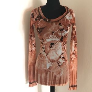 🆕Jean Paul Gautier vintage blouse ballerinas S-L